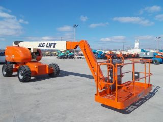 2005 Jlg 600sj Aerial Manlift Boom Lift Man Boomlift With Skypower Generator photo