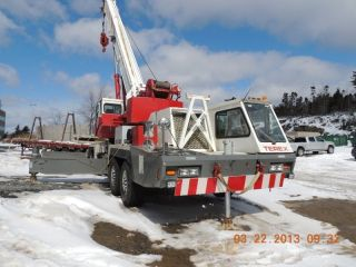 75 Ton Terex T750 Hydraulic Truck Crane.  Good Running Condition, photo