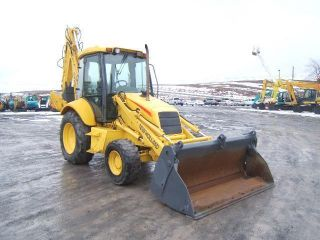 Holland Lb90 Backhoe photo