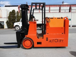 Autolift 30,  000 Lbs Electric Forklift,  Batteries,  Lift Truck Coil Lifter photo