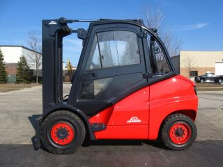 2006 Linde H50d 11000 Lb Capacity Forklift Lift Truck Pneumatic Tire photo