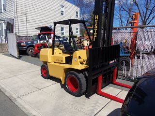 L@@k Hyster H80xl Fork Lift Propane Powered In Jersey photo