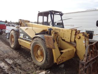 Caterillar Th83 High Reach Forklift,  8k,  2003,  2960 Hrs,  Skytrak - Telehandler photo