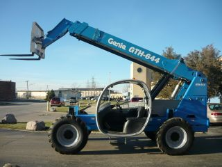 2006 Genie Terex Gth - 644 Telehandler Reach Forklift Telescopic Forklift Jd Turbo photo