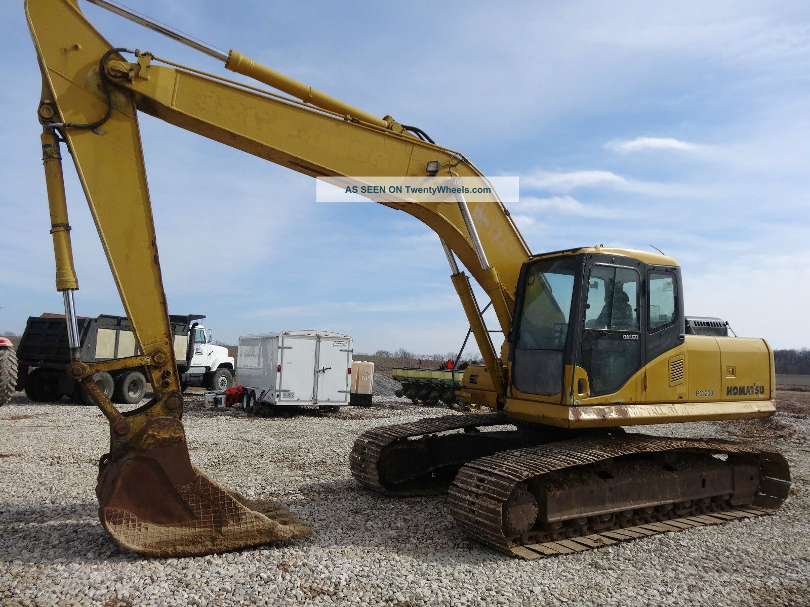2003 Komatsu Pc 200 Lc - 7 Excavator With 5700hrs Ready To Go To Work Excavators photo