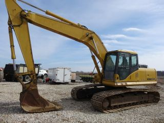 2003 Komatsu Pc 200 Lc - 7 Excavator With 5700hrs Ready To Go To Work photo