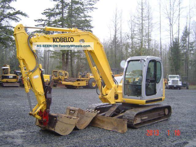 2005 Holland/kobelco E80msr Excavator 2 Bkts Q/c Excavators photo