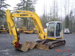 2005 Holland/kobelco E80msr Excavator 2 Bkts Q/c photo