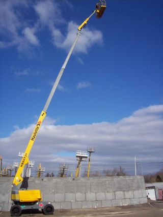 Haulotte Hb86 Tj+ Boom Lift Aerial Platform Man Lift photo