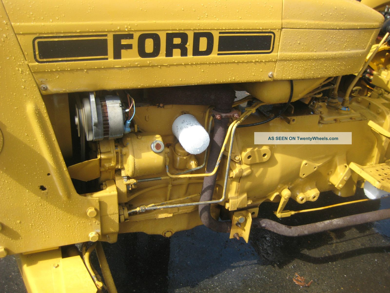 Ford 3 Cyl Diesel : Cylinder ford tractor engine