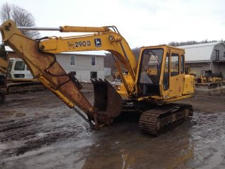 John Deere 290d Backhoe Excavator Loader Dozer Trackhoe Price photo