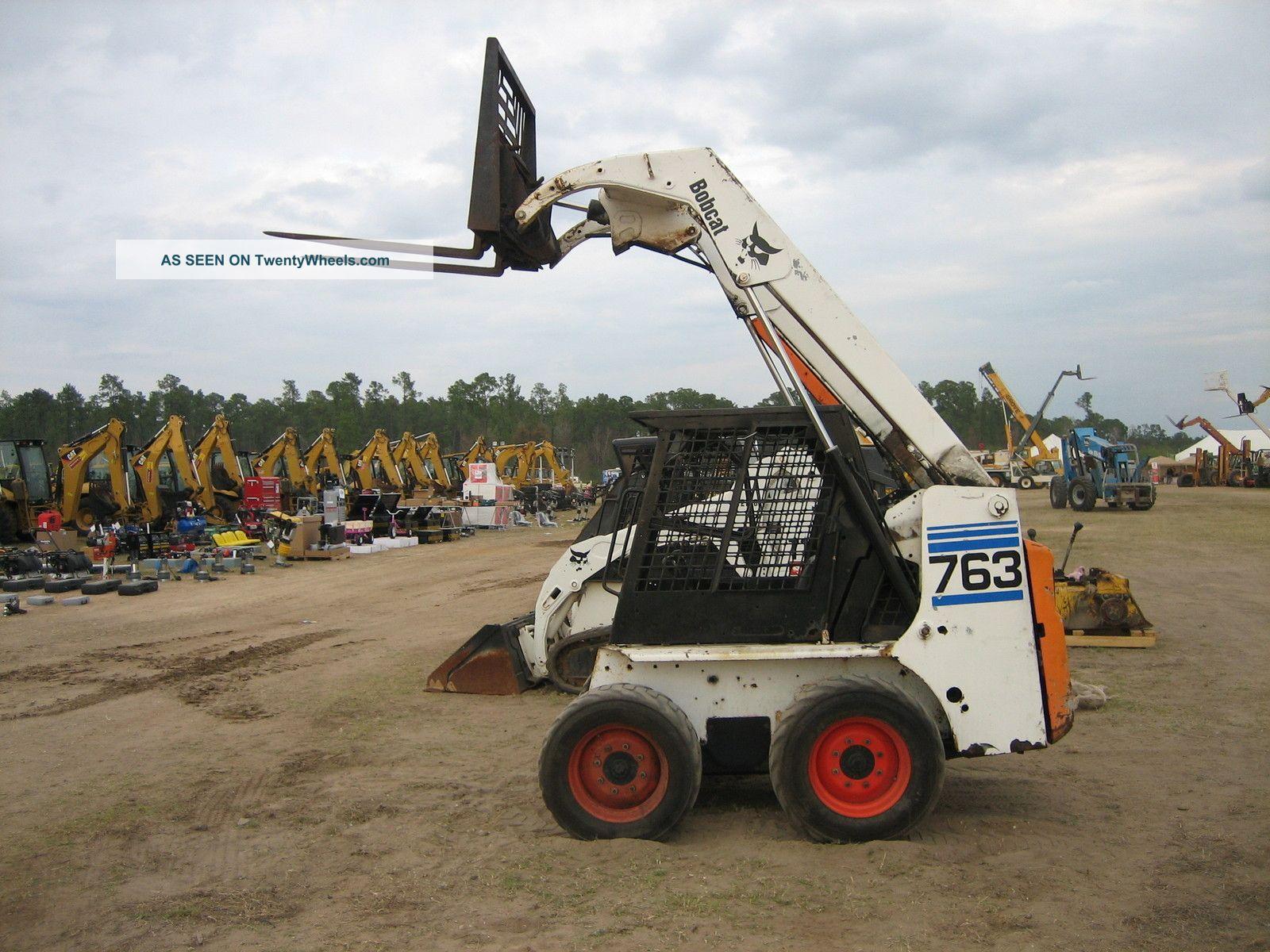 Construction - Heavy Equipment & Trailers - Skid Steer