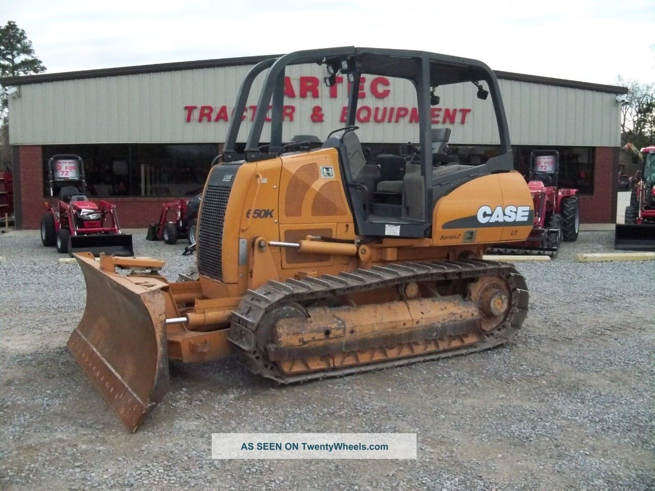 2007 Case 650k Lt Bulldozer - Dozer - Crawler Tractor - Excellent Undercarriage Crawler Dozers & Loaders photo