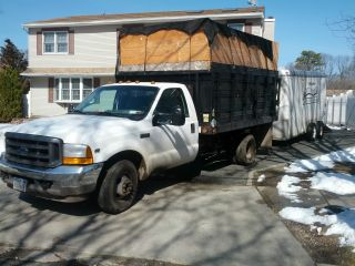 2001 Ford F350 Duty Xl 5.  4 L V 8 Gas photo