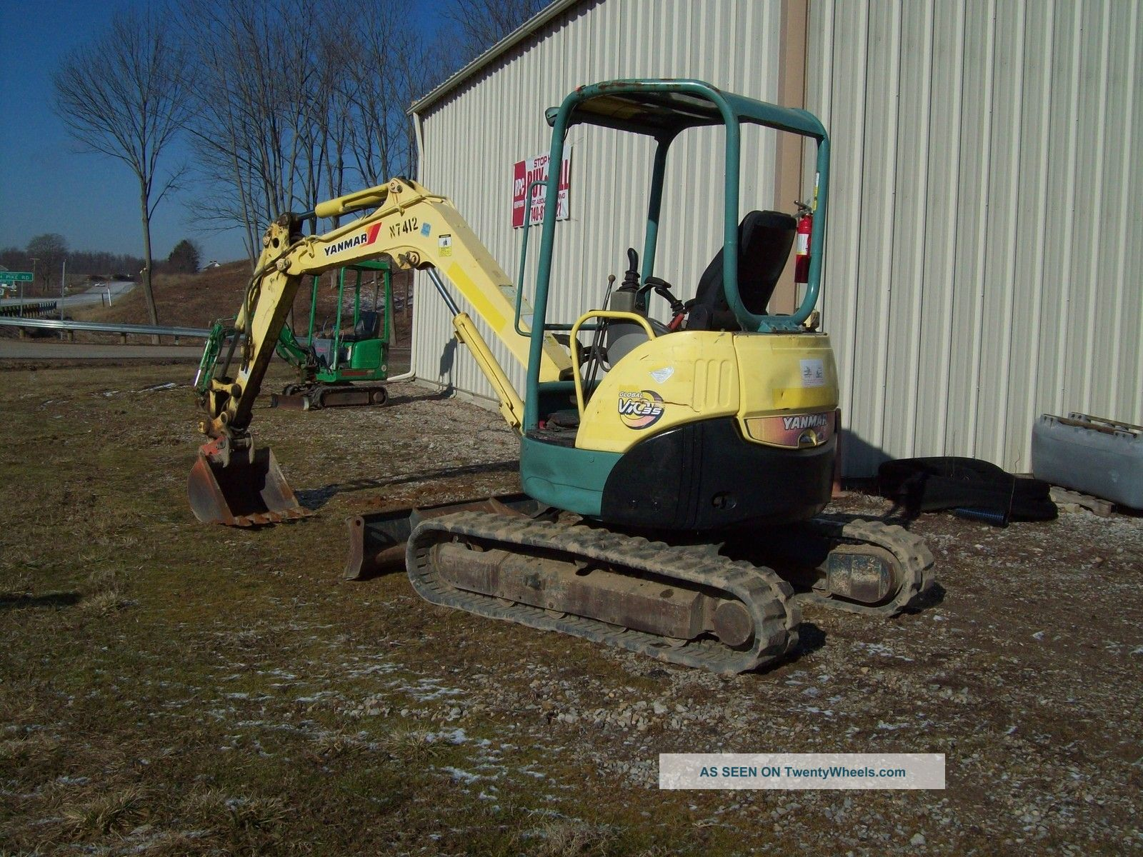 Yanmar 2500 Parts : Yanmar vio mini excavator hours
