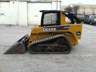 2007 John Deere Ct322 Compact Track Loader / Skidsteer; 1782 Hrs photo