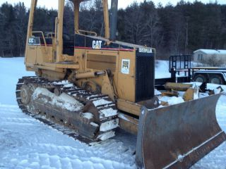2000 Caterpillar D3c Hystat Cat Dozer With Great Undercarriage Price photo