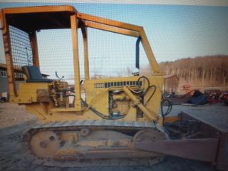 Case 350 Dozer photo