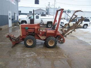 1979 Ditch Witch Model 2300 Riding Trencher W/ Angling Blade & Directional Bore photo