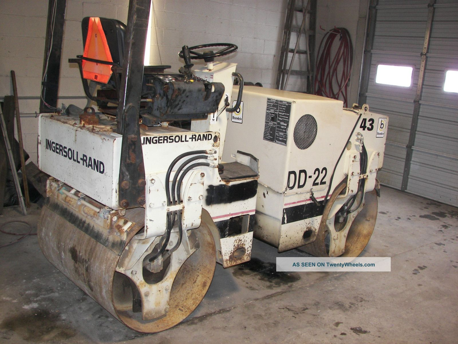 Ingersoll Rand Dd - 22 Diesel Doulbe Roller Smooth 39