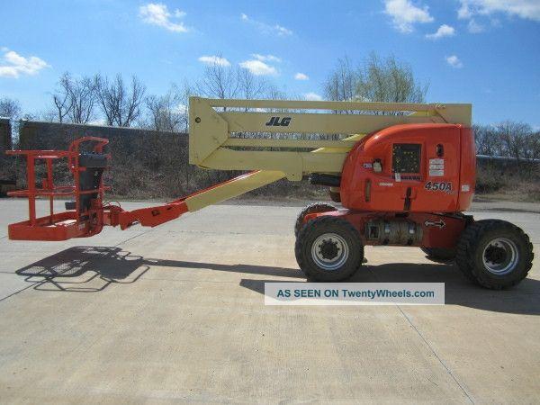 2003 Jlg 450a Aerial Manlift Boom Lift Man Articulating Boomlift 45 ' Lift Lifts photo