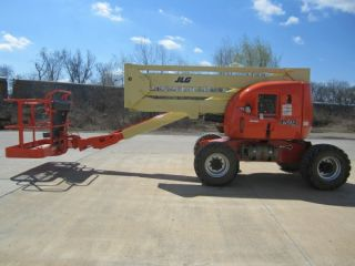 2003 Jlg 450a Aerial Manlift Boom Lift Man Articulating Boomlift 45 ' Lift photo