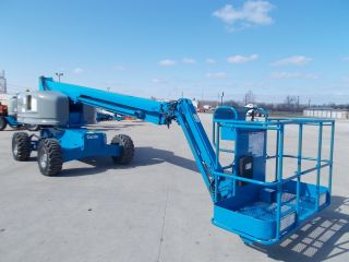 Genie S45 Aerial Manlift Boom Lift Man Boomlift Painted 45 Foot Lift Height photo