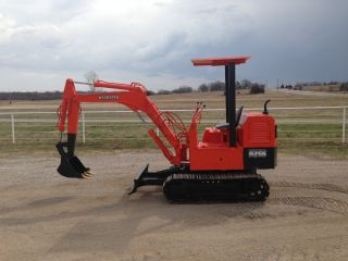 Kubota Kh8 Mini Excavator Trackhoe Backhoe Dozer Cheap photo