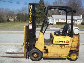 1989 Hyster 5000 Lb.  Forklift 526 photo