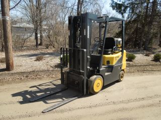 Doosan Gc25e Propane Powered Forklift photo