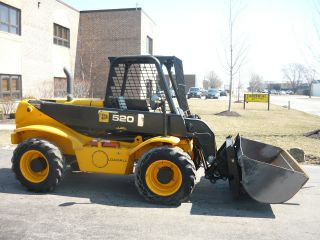2008 Jcb 520 - 50 Compact Reach Forklift Telehandler Loadall Telescopic Loader photo