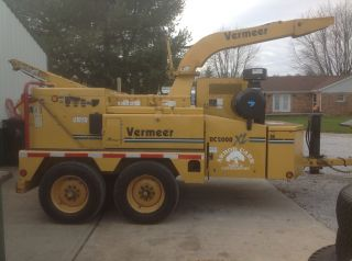 2005 Vermeer Bc 2000 Xl W/ Winch photo