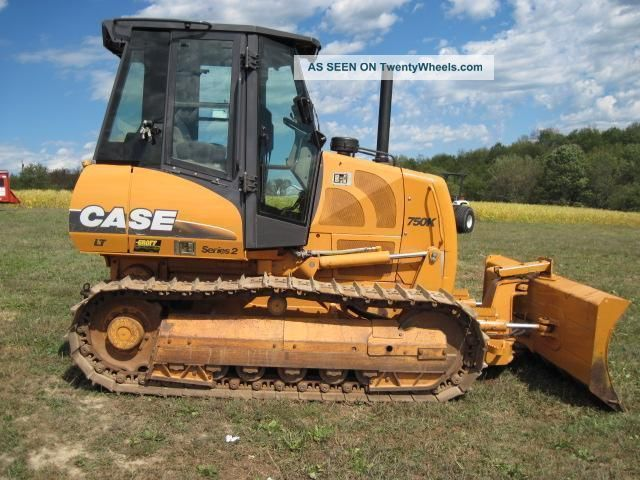 2005 Case 750k Series 2 Lt Crawler Dozer Crawler Dozers & Loaders photo