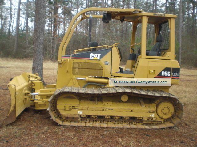 2007 Caterpillar D5g Lgp Dozer Crawler Dozers & Loaders photo