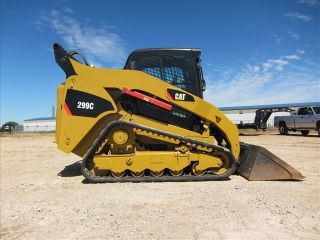 2009 Caterpillar 299c Skid Steer photo