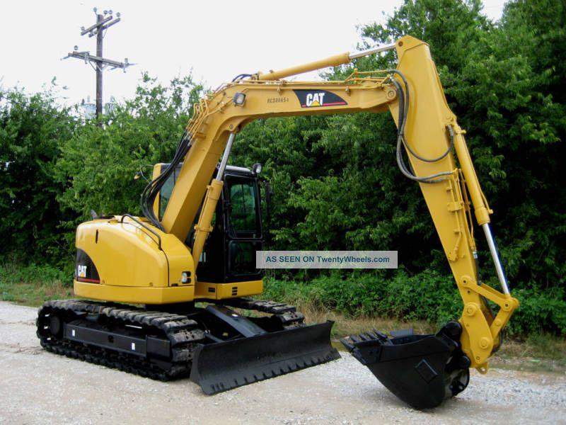 2005 Caterpillar 308c Cr Excavator Excavators photo