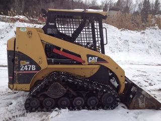 2005 Cat 247b Tracked Skid Steer Loader photo