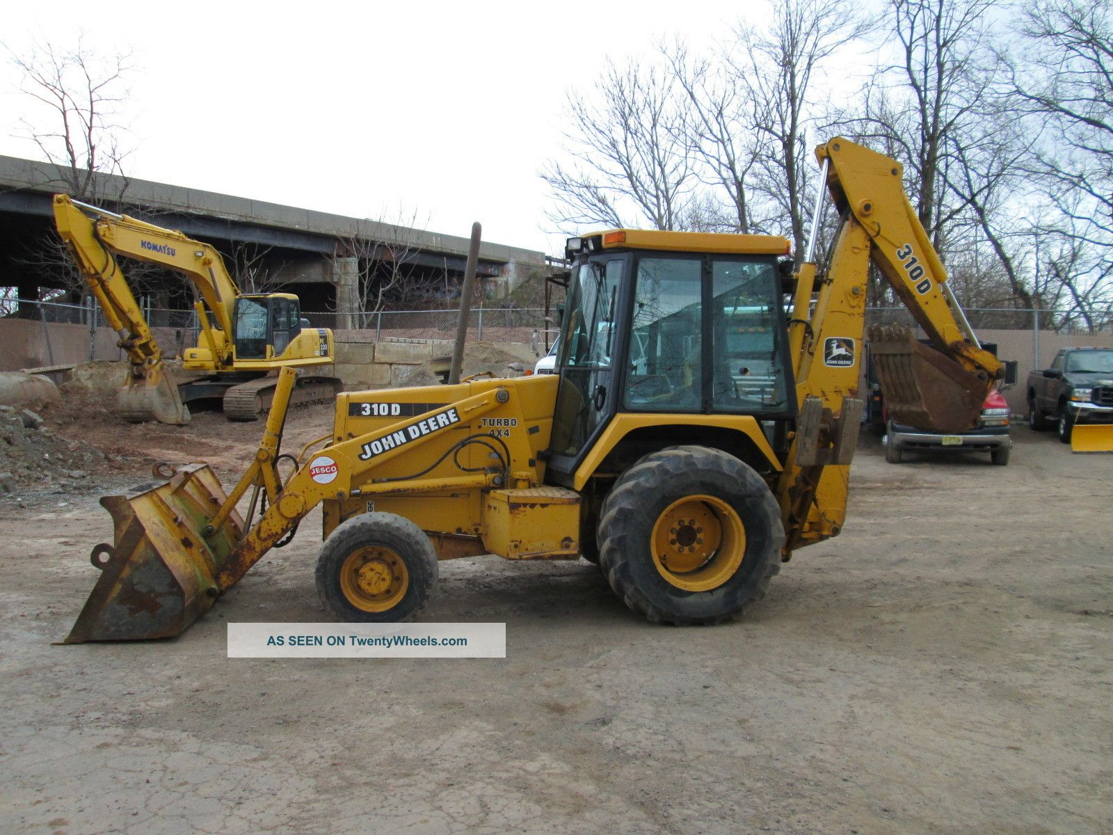 1994 John Deere 310d 4x4 Backhoe - Owner Backhoe Loaders photo