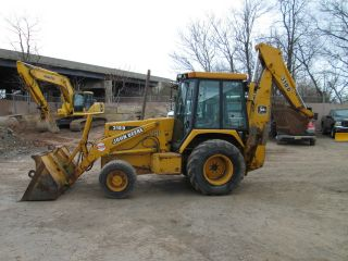 1994 John Deere 310d 4x4 Backhoe - Owner photo
