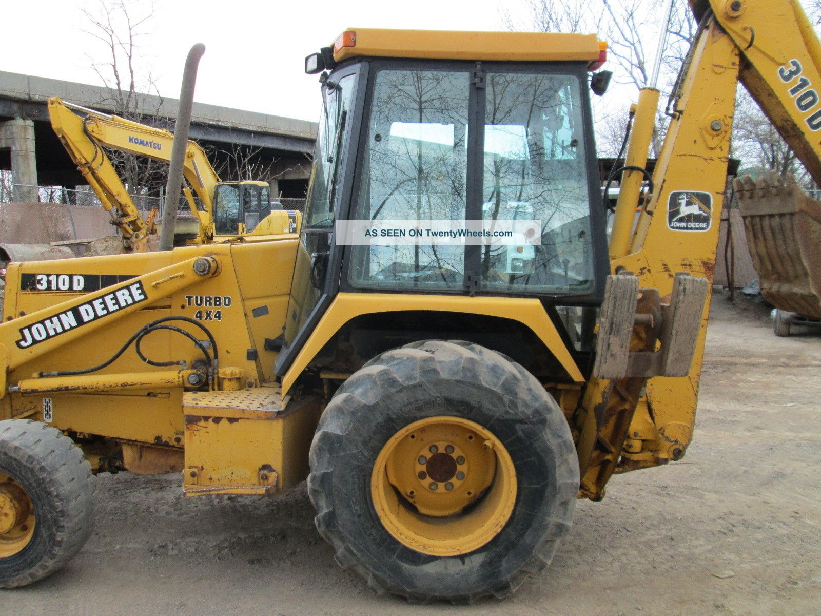 John Deere 310 Backhoe Manual Ignition Switch Wiring Diagram Additionally 110 Tlb 1994 310d 4x4 Owner Loaders Photo 1