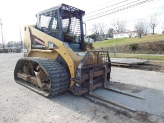 2006 Caterpillar 236b Loegering Track Skidsteer photo