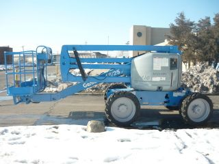 2008 Genie Z45/25 Rt 4x4 Articulating Boom Manlift Aerial Deutz Diesel Low Hrs photo