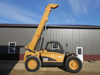2005 Caterpillar Th350b Telescopic Fork Lift Telehandler Lull Material Handler photo