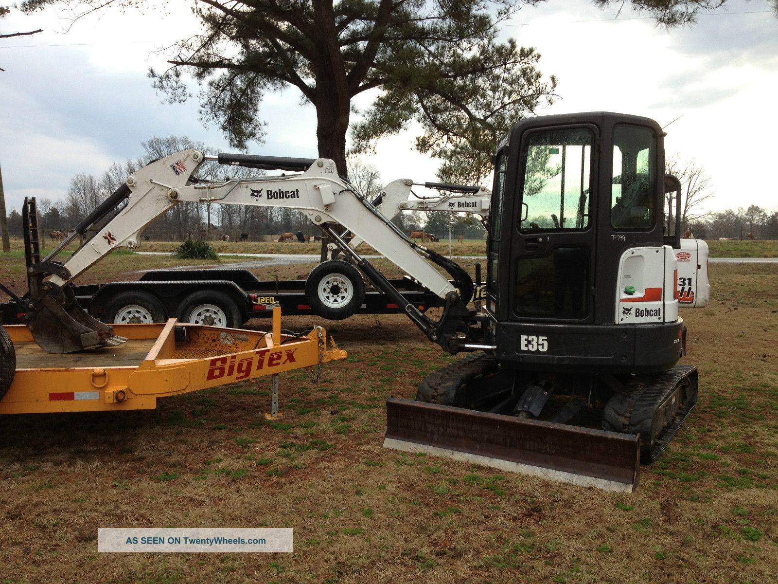 Bobcat E35 Cab With Heat And Air Excavators photo