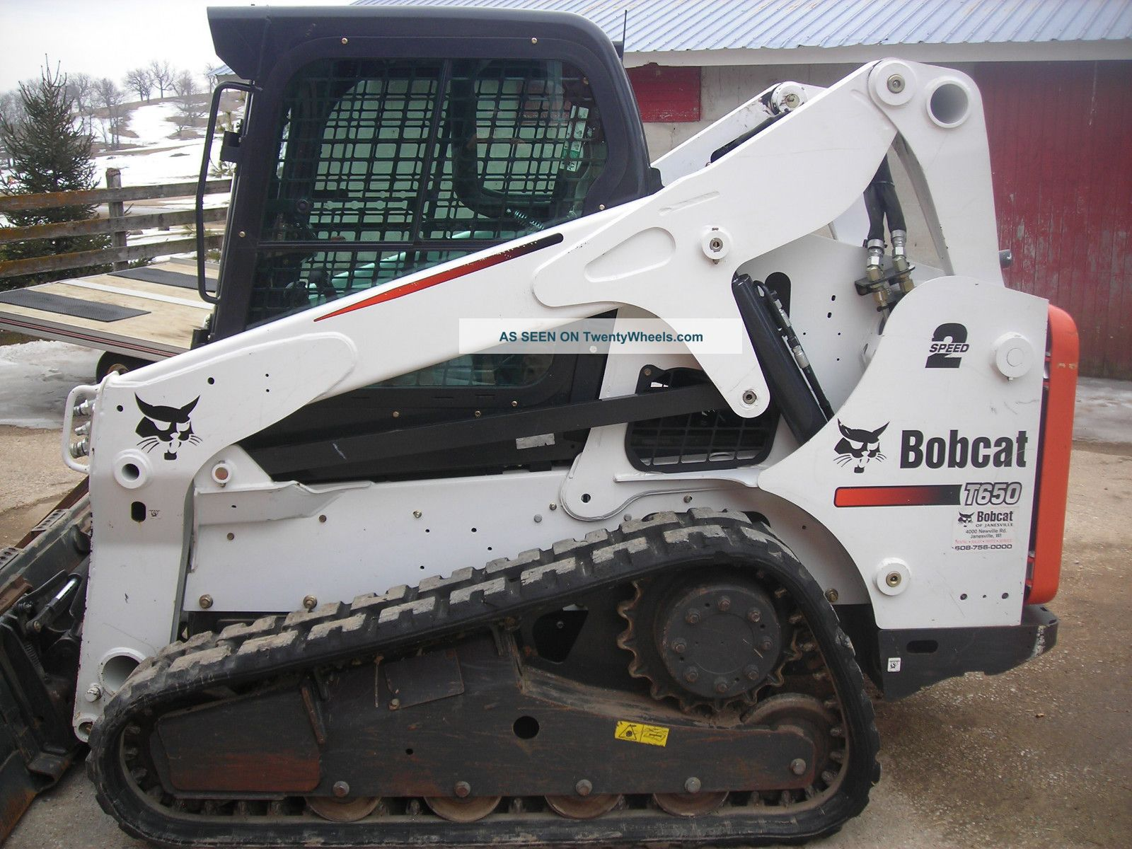 2012 Bobcat T650 Fully Loaded With T570 T590 T630 T750 T770 T870 T300