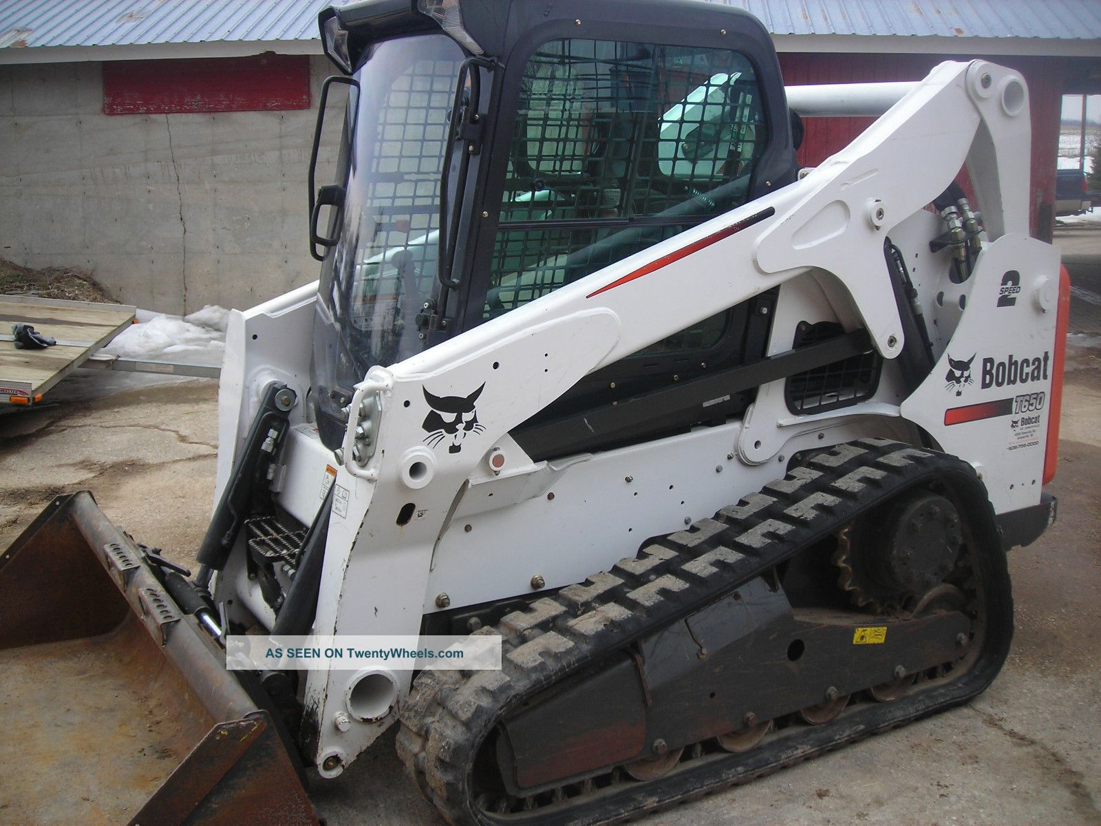 2012 Bobcat T650 Fully Loaded With T570 T590 T630 T750 T770
