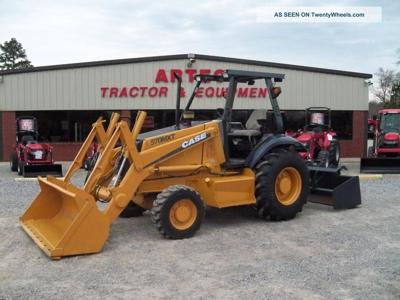 2005 Case 570m Xt Skip Loader - Landscape Tractor - 4x4 - Hydraulic Box Blade Crawler Dozers & Loaders photo
