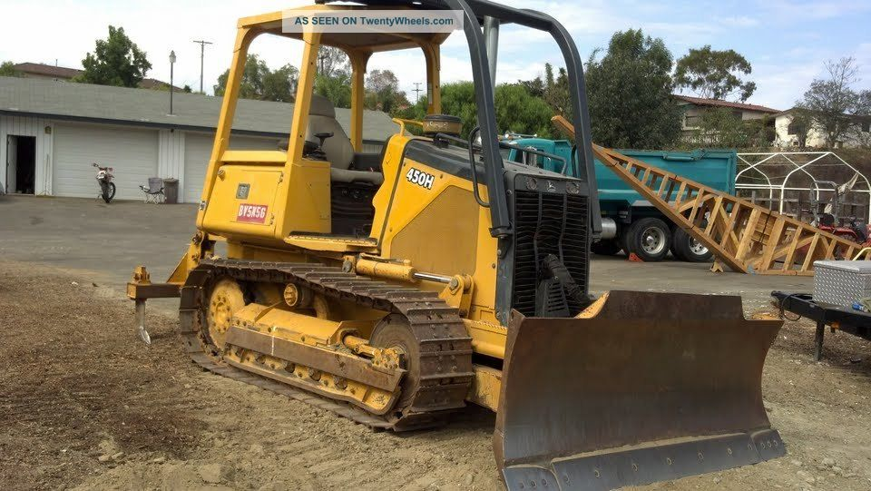 2000 John Deere 450h Dozer With Vail Ripper And Video Demonstration Crawler Dozers & Loaders photo