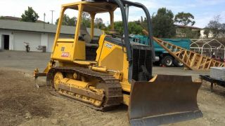 2000 John Deere 450h Dozer With Vail Ripper And Video Demonstration photo