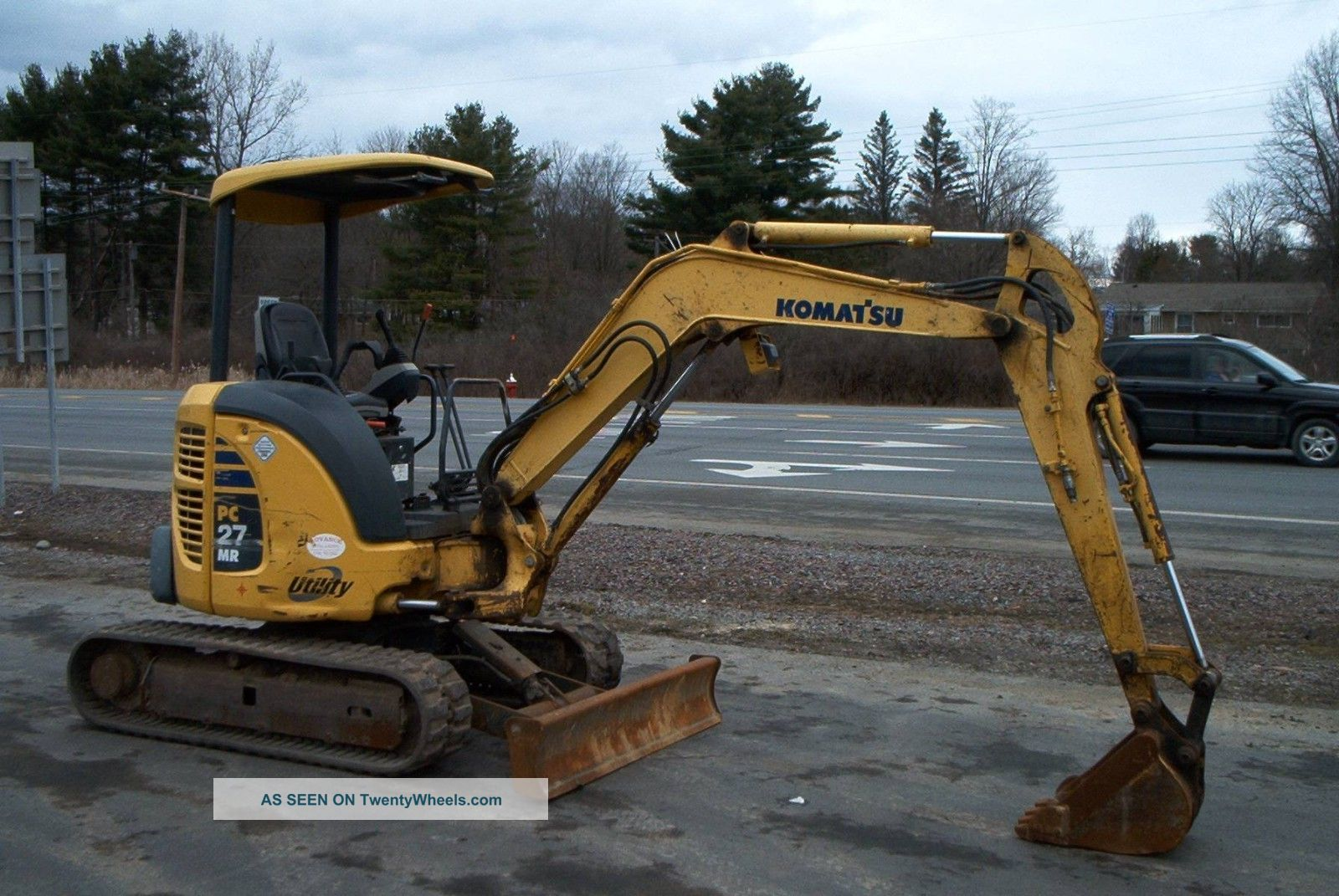 Komatsu Pc27mr - 2 (2006) Excavators photo